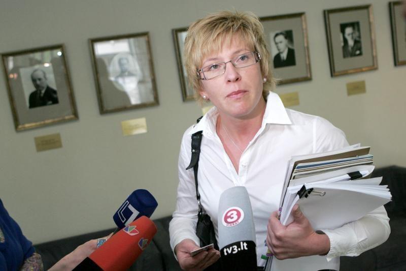 I.Šimonytė: Lietuvai būtina griežta finansinė drausmė
