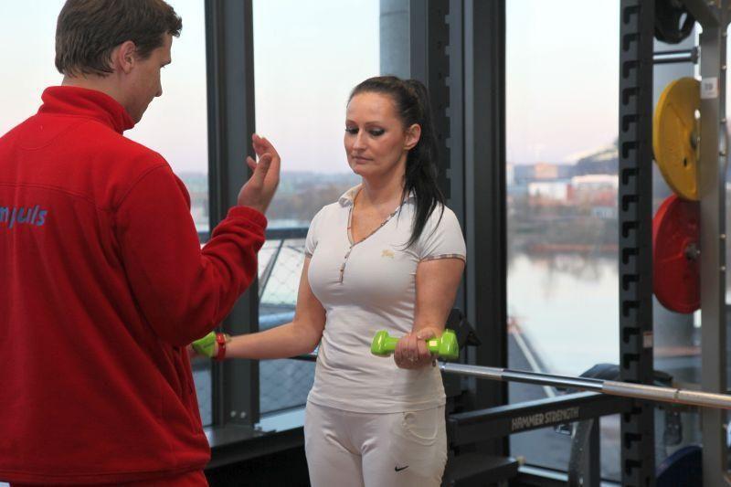 Verslininkė I. Budrienė po 15 metų vėl lies prakaitą sporto salėje