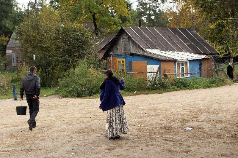 K.Lančinskas: romų taboro problemos - kaip ataugančios slibino galvos