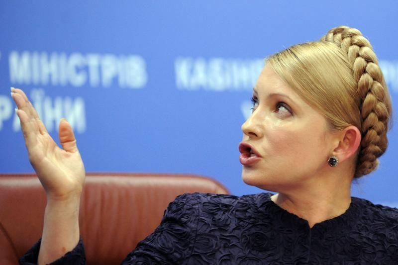 Tymošenko mano, kad Janukovyčius linkęs į smurtą