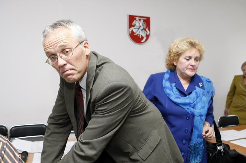 Klaipėdos rajono vicemerais išrinkti R.Cirtautaitė ir K.Cirtautas
