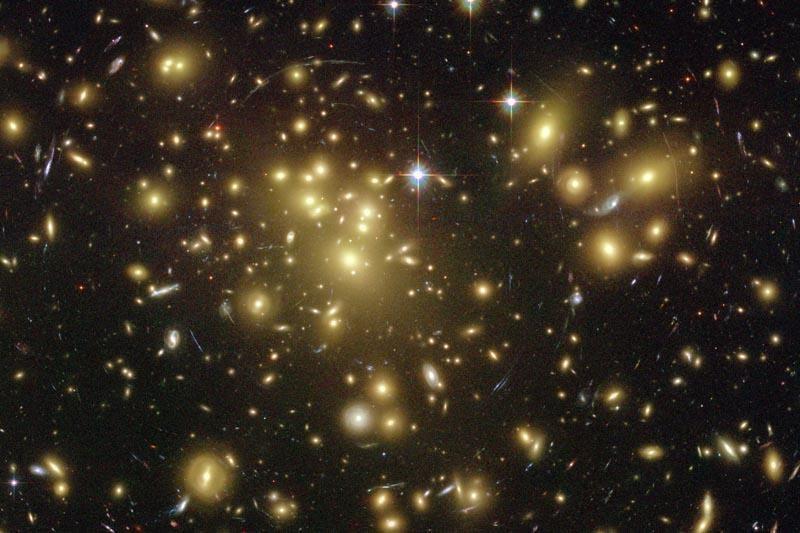Nematoma galaktika – iš tamsiosios medžiagos?