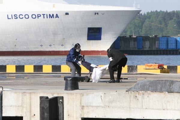 Klaipėdos uosto pratybose – teroristų ataka