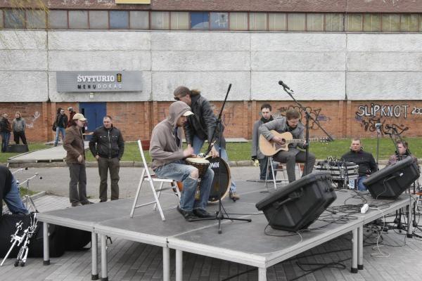 Klaipėdos senamiestis paskendo muzikoje