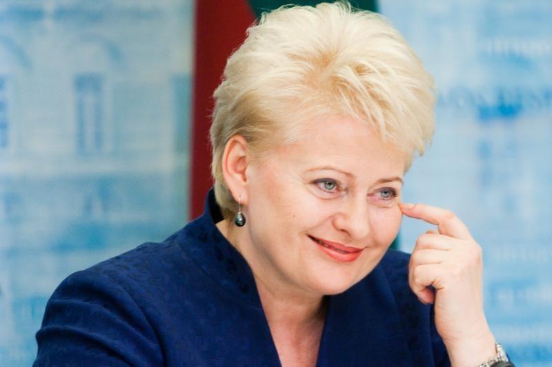 Prezidentė D. Grybauskaitė pristatys savo darbus, nuveiktus per ketvirtuosius kadencijos metus