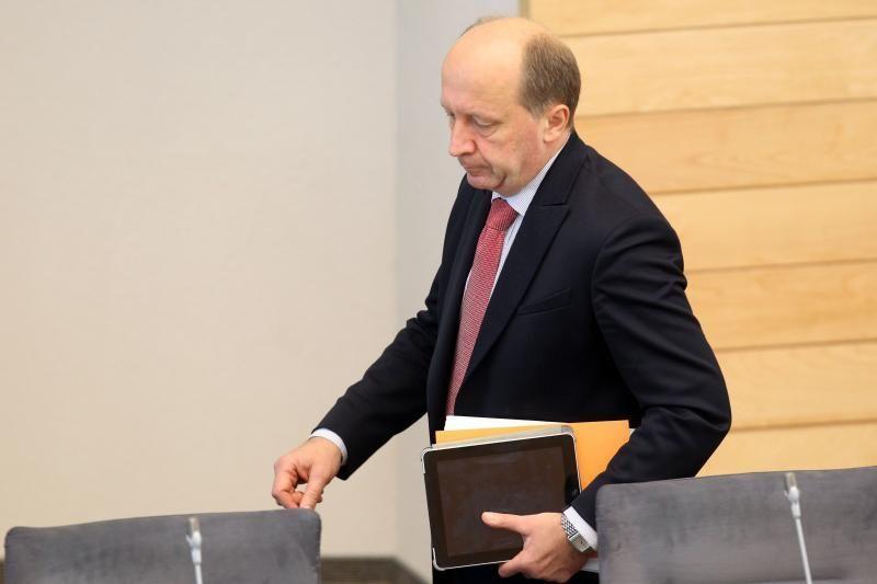 Premjeras: sprendimai FNTT - po Antikorupcijos komisijos išvadų
