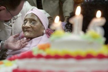 Seniausia pasaulio gyventoja sulaukė dar vieno jubiliejaus