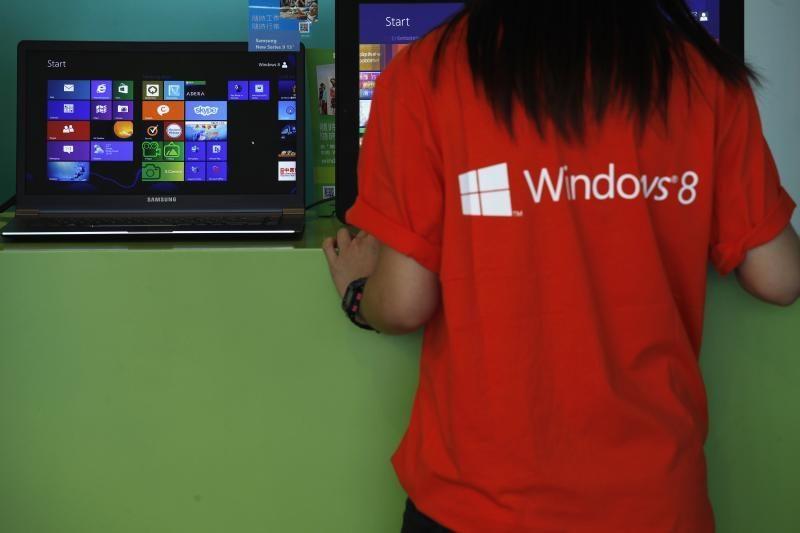 """""""Windows 8"""" operacinė sistema pagaliau aplenkė """"Windows Vista"""""""