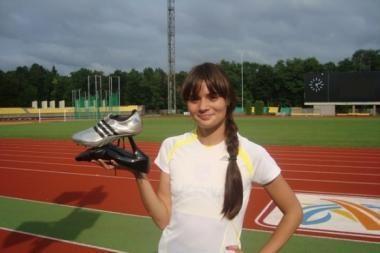 A.Orlauskaitė Vilniaus maratone bėgs su aukštakulniais