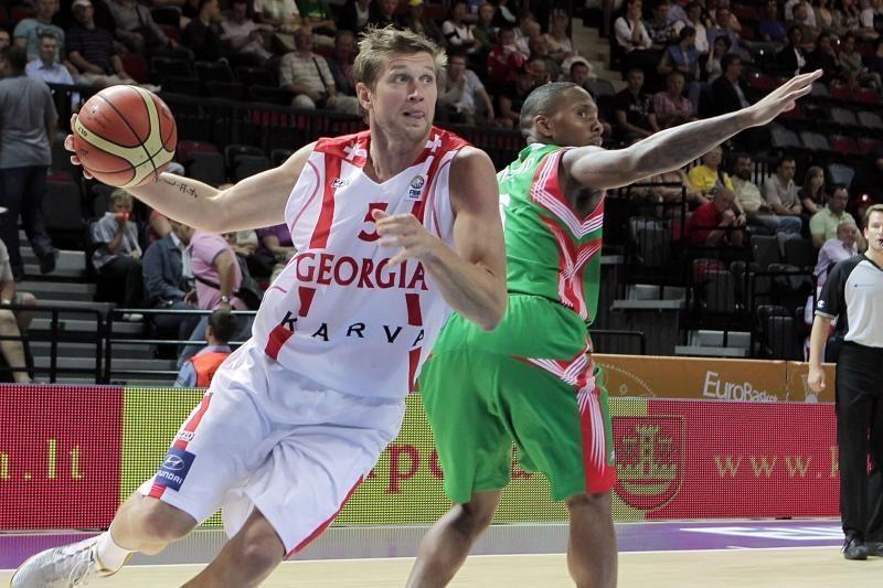 Gruzijos krepšininkų likimas - ukrainiečių rankose