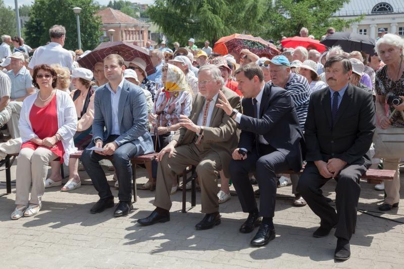 Naujosios Vilnios memoriale minėta Gedulo ir vilties diena