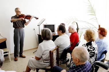 Muzika išlaisvina ligonių išgyvenimus