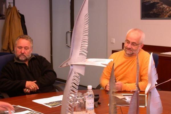 """Uosto direkcija statys """"Albatroso"""" paminklą"""