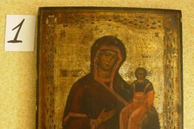 Medininkuose sulaikyta senovinių ikonų kontrabanda