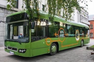 """""""Kauno autobusai"""" pristatė unikalų hibridinį autobusą"""