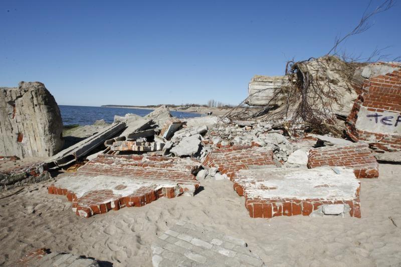Klaipėdos paplūdimiams reikia skubios pagalbos