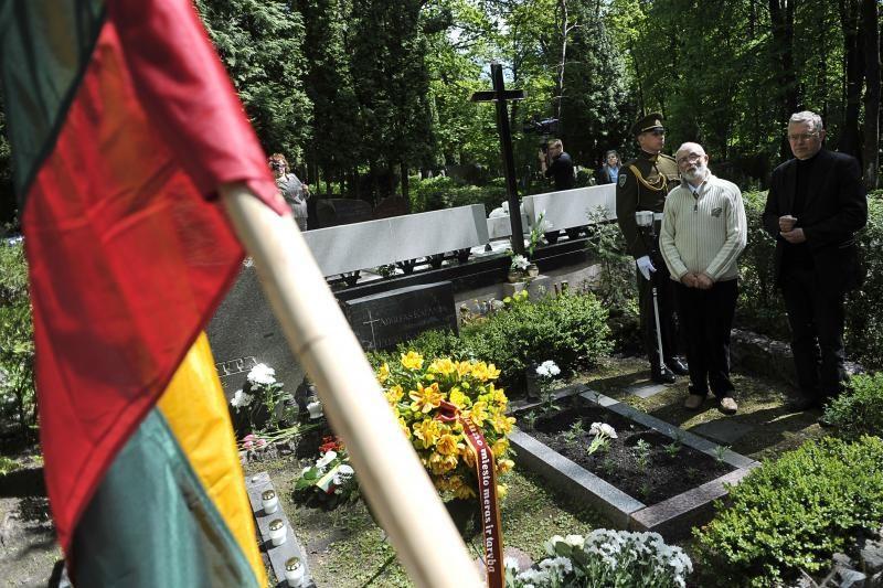 A.Kalanta: džiaugiuosi, kad mano brolio auka iki šiol neužmiršta