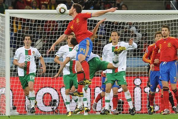 Ispanai įveikė Portugaliją ir žengė į ketvirtfinalį