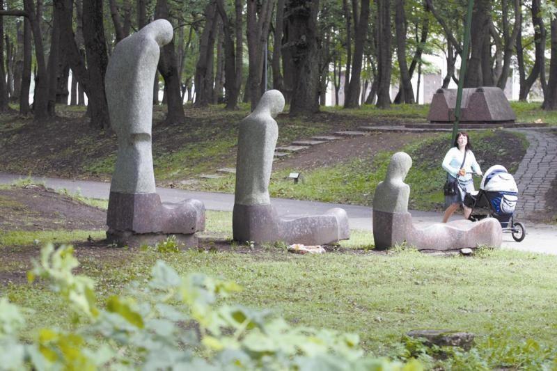 Mokslinės konferencijos objektas – Klaipėdos skulptūrų parkas