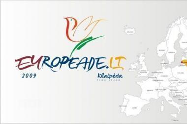 """""""Europiados"""" svečiams bus pristatyta regionų kultūra"""
