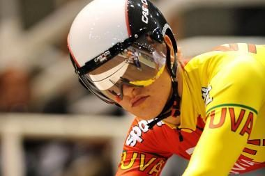 S.Krupeckaitė startuoja Lietuvos dviračių treko čempionate