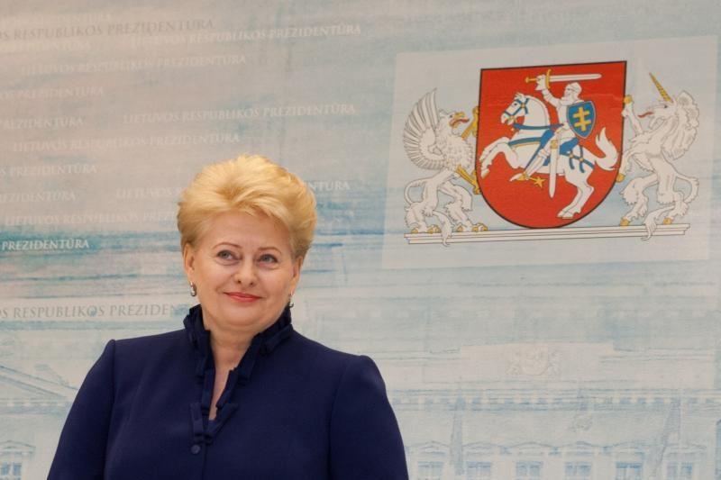 Rumunijoje viešinti D.Grybauskaitė pabrėžė valdžios susitarimų svarbą