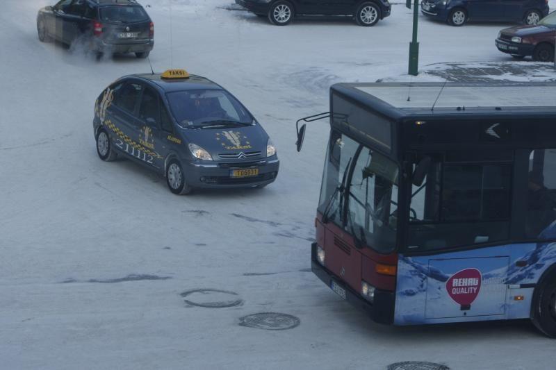 Klaipėdos gatvių valytojus įveikė stichija