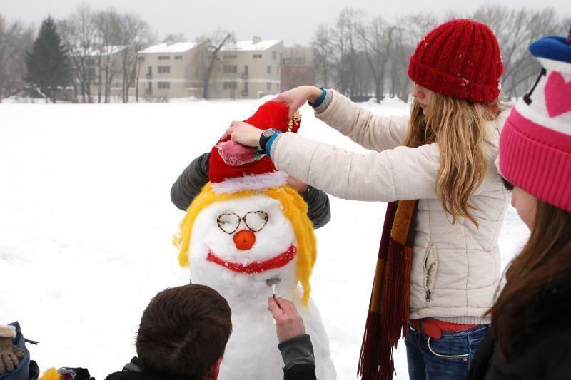 Fotokonkursas: kas nulipdys gražiausią sniego senį?
