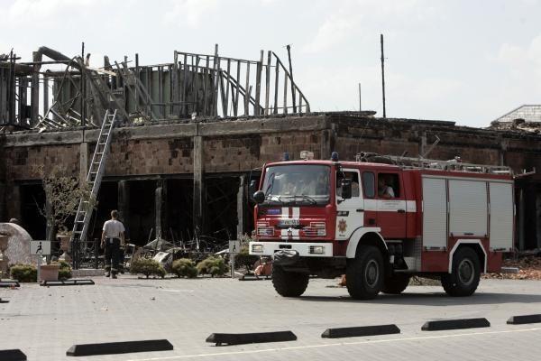 Trakų rajone sudegė kibininė