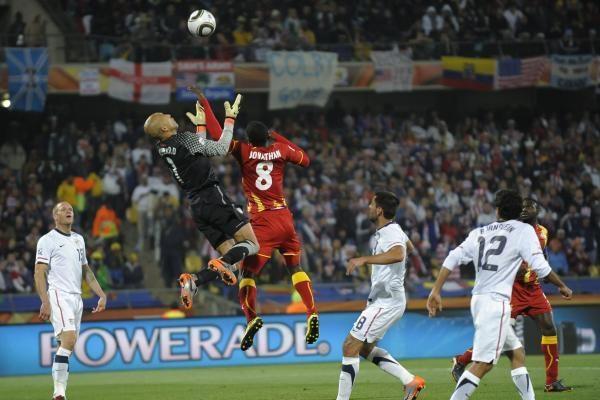 Ganos rinktinė po pratęsimo įveikė JAV ir pateko į ketvirtfinalį