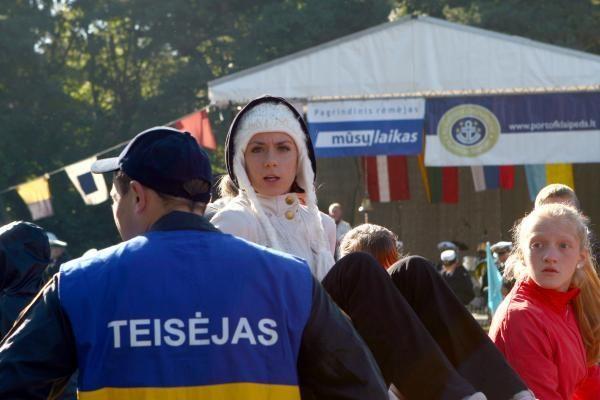 """""""Gintarinę jūrmylę"""" laimėjo ukrainietis V.Šafaras ir lietuvė R.Drazdauskaitė"""
