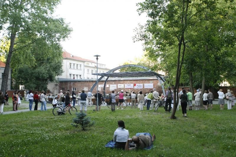 Koncertų salės parke - Deivio ir Klaipėdos brass kvinteto koncertas