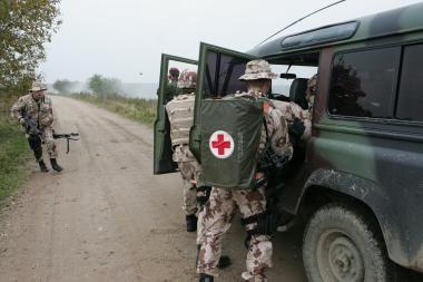 Klaipėdoje bus įvertintas karių pasirengimas misijai Afganistane