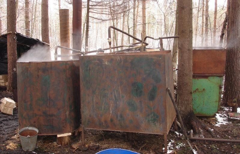 Kretingos rajone demaskuotas naminės degtinės gamintojas