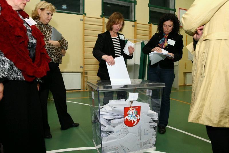 VRK nagrinės prašymus perskaičiuoti rinkėjų balsus