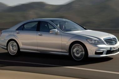"""""""Mercedes-Benz"""" atnaujino """"S63/S65 AMG"""""""