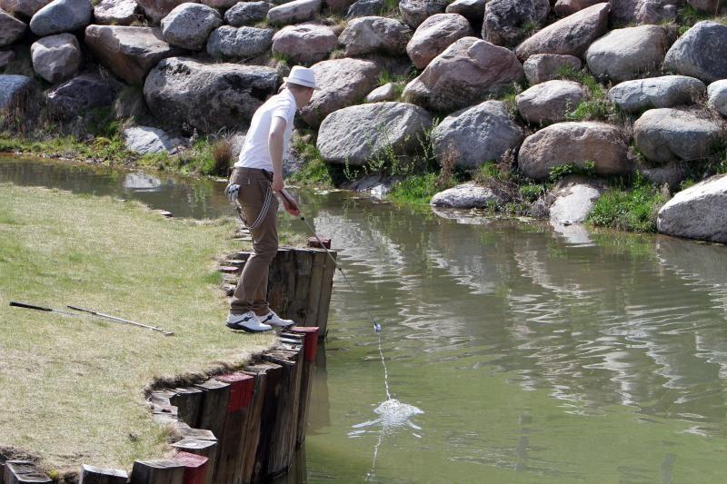Golfo žaidėjai pradėjo 2012 metų sezoną