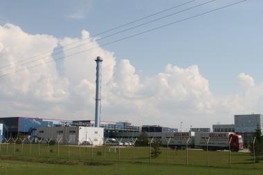 Klaipėdoje modernizuojamas rūkalų fabrikas