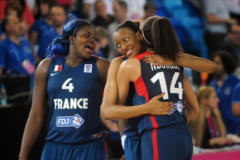 Dėl Europos krepšinio čempionato karūnos kovos ispanės ir prancūzės