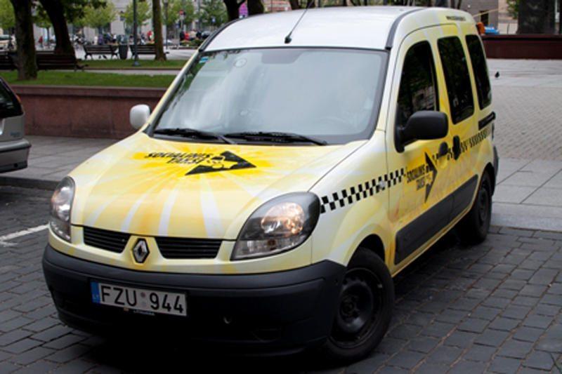Kelionė socialiniu taksi Vilniuje kainuos 3 litus