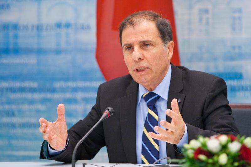 Maltos prezidentas Vilniuje ragino ES priimti daugiau pabėgėlių