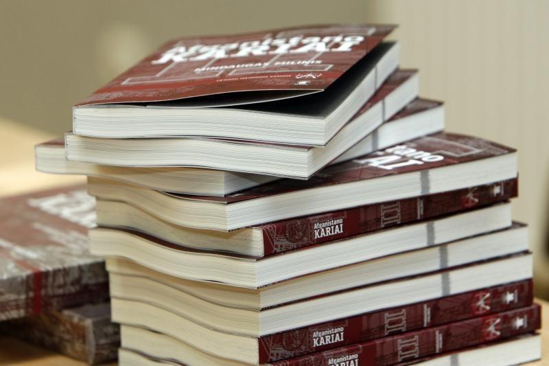 Knygoje – ir klaipėdiečių Afganistano karo veteranų prisiminimai