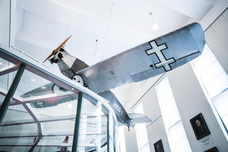 """Naujoje """"Lituanicos"""" ekspozicijoje – ir legendinių lakūnų laiškai"""