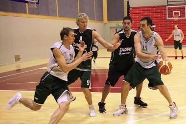 """""""Žalgirio"""" krepšininkai pradeda rungtyniauti"""