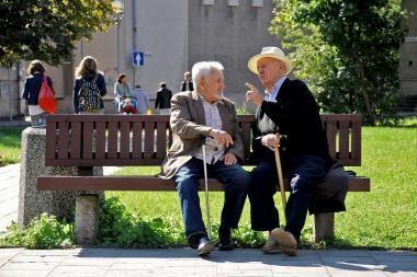 Klaipėdoje vyrai gyvena dešimčia metų trumpiau nei moterys