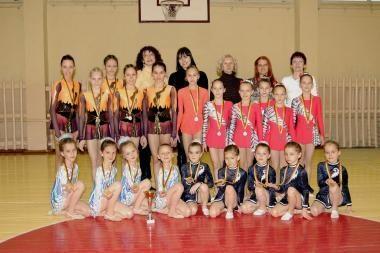 Klaipėdos gimnastės sėkmingai pasirodė šalies pirmenybės