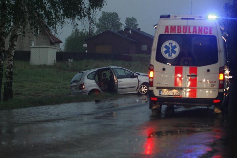 Vilniuje per avariją sužaloti penki žmonės