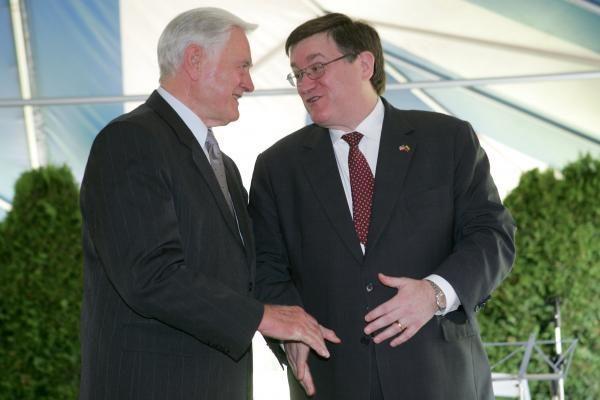 JAV ambasadoje – visa Lietuvos grietinėlė