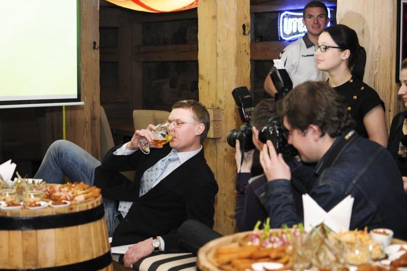 Baras vyrams: alus, sportas ir geras laisvalaikis