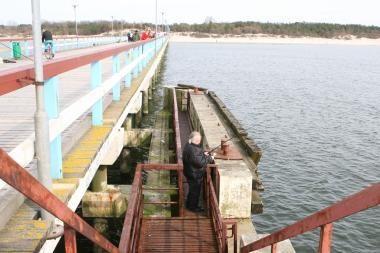 Palanga vėl tikisi išnuomoti tilto prieplauką